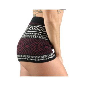 Forever 21 Aztec Patterned High Waist Hot Shorts